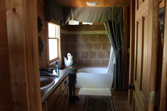 Dogwood Cabins at Trillium Cove: Master Bath