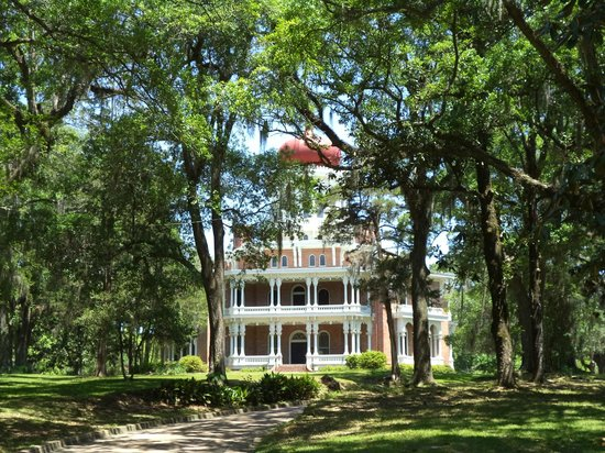Natchez, MS: Longwood through the trees