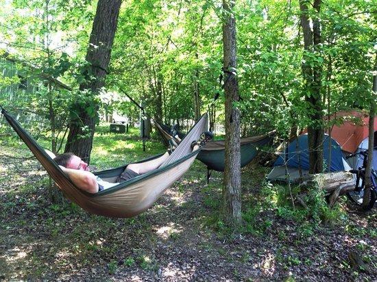 Fall Creek Falls Campsites