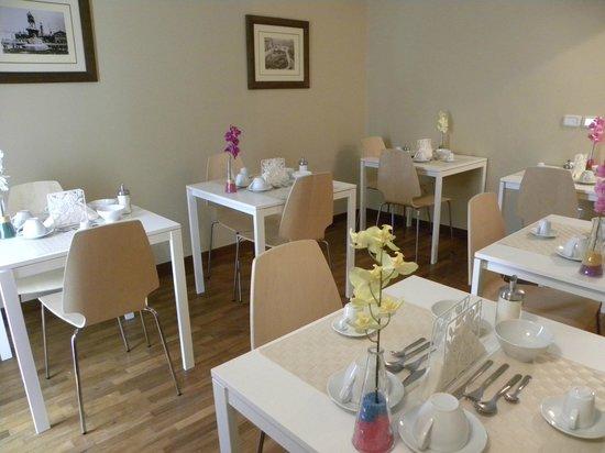 Hotel Regina Margherita: Sala colazione