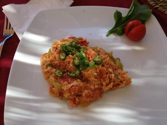 "Chillies Kebap Dünyası : My ""special"" Menemen.....delicious!"