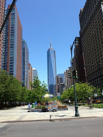 Battery Park: The Freedom Tower