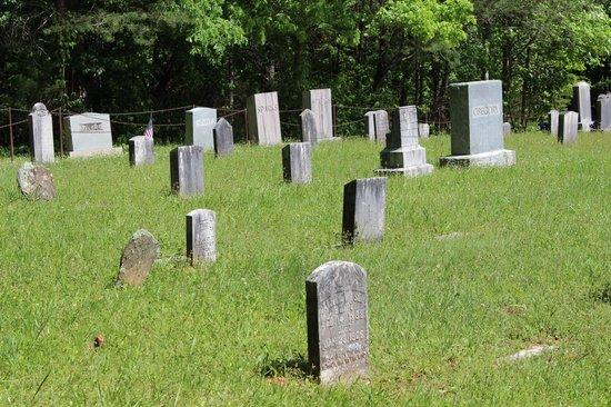 Cades Cove Visitor Center : Methodist church cemetery