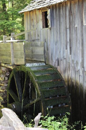 Cades Cove Visitor Center: Cable Mill