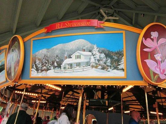 Saranac Lake, NY: Carousel 4