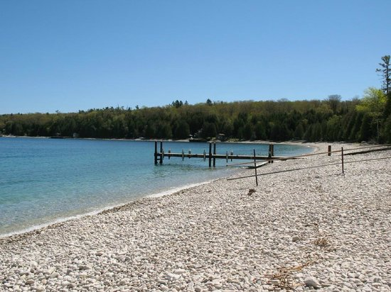 Schoolhouse Beach: One of 4 or 5 beaches like this in the world