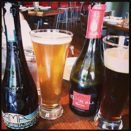 In Riva: Amazing selection of Italian craft beer