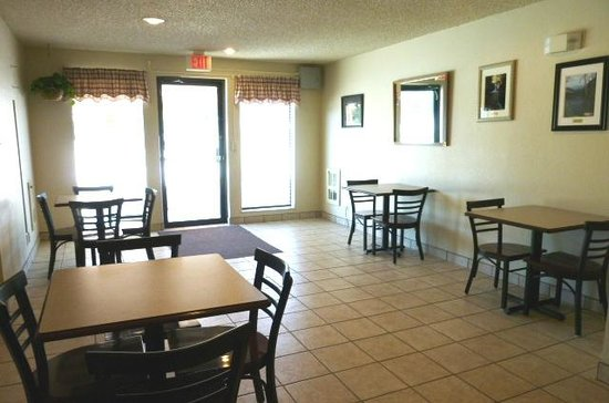 The Country Inn: Our hotel's dining area is the perfect place to enjoy a cup of Joe!