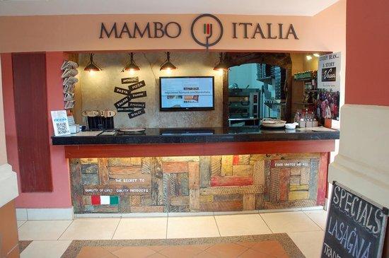 Mambo Italia: front counter