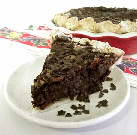 Sweetie-licious Bakery Cafe: Mom's Comfort Chocolate Chess Pie