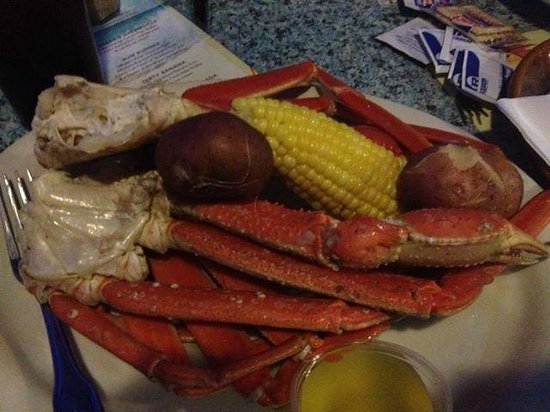 Locklears: Yummy crab leg dinner
