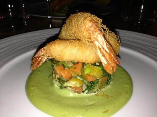 La Fourchette du Printemps: chef suggestion - king prawn