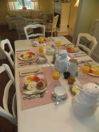 Cape House B&B: Vegetarian breakfast