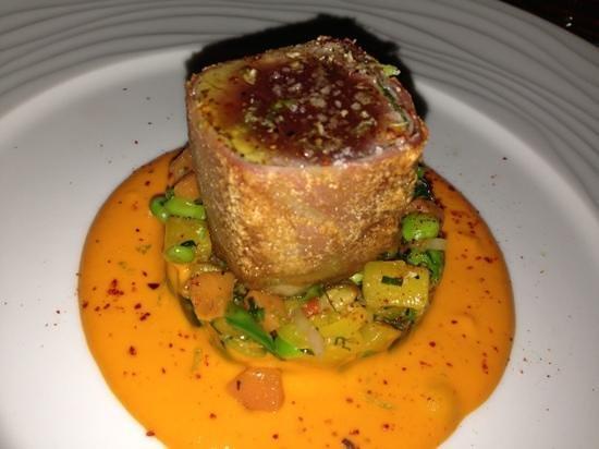 La Fourchette du Printemps: chef suggestion - crispy tuna