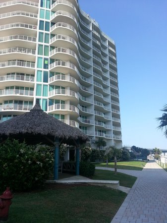 "Caribe Resort: ""B"" Building along the marina"
