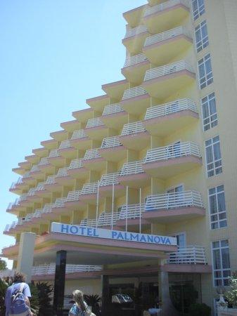Globales Palmanova: Hotel