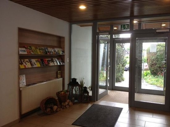 Hotel St. Fridolin: Reception