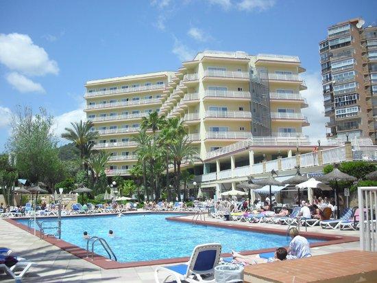 Globales Palmanova: Hotel/ Pool View