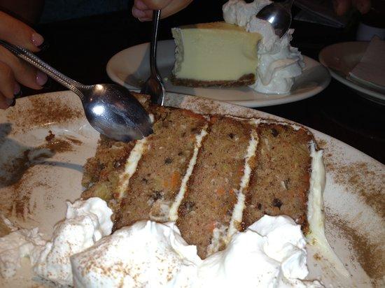 Copeland's of New Orleans: Carrot Cake!