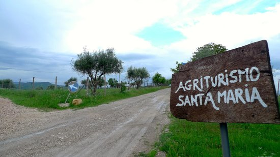 Agriturismo Santa Maria: Signage