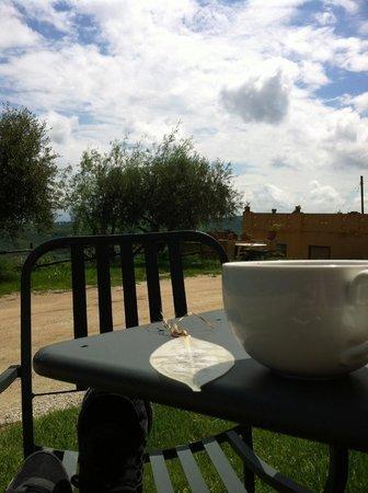 Agriturismo Santa Maria: morning cup