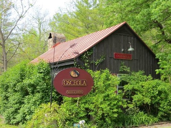 Osceola Mill Restaurant, B&B and Cabins: The Old Mill Store, where we stayed