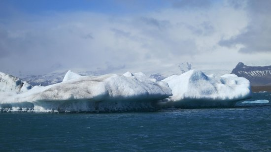 Iceland Travel - Day Tours: icebergs
