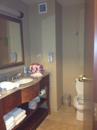 Hampton Inn & Suites Grove City: Bathroom