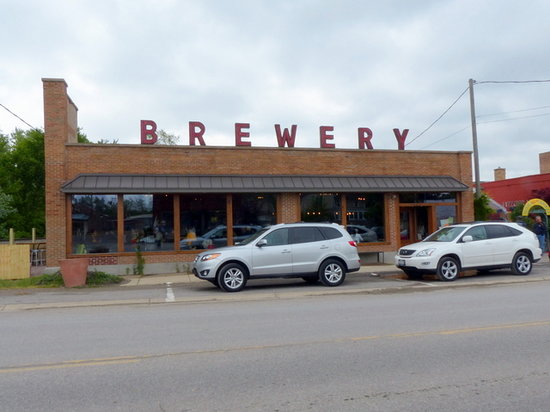 Greenbush Brewing Co.: Front of building