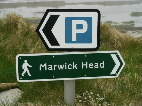 Mainland, UK: This way.