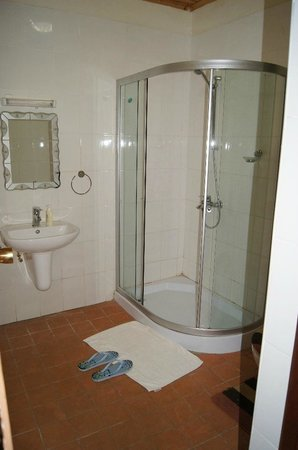 Our shower rooms