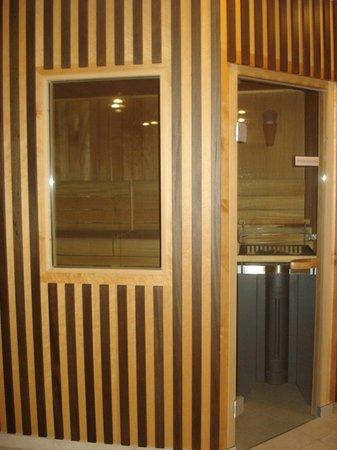 Hotel das stachelburg: Sauna finlandese