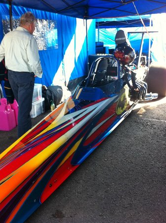 Santa Pod Raceway: Beautifully prepared machines