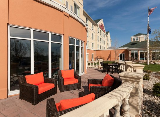 Patio Picture Of Hilton Garden Inn Merrillville Merrillville