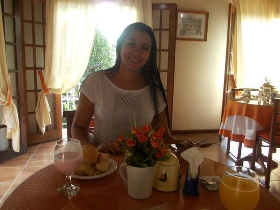 Hotel Mon Desir: Café