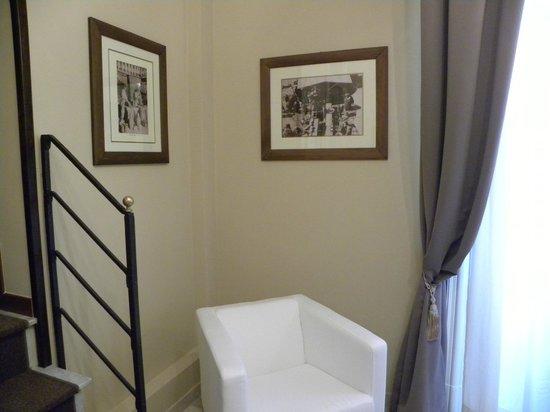 Hotel Regina Margherita: Reception