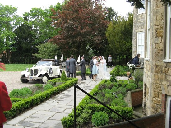 Washingborough Hall Country House Hotel : Arriving at Washingborough Hall