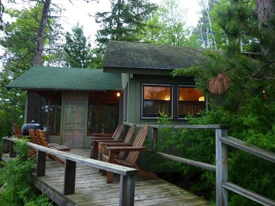 Ludlow's Island Resort: Cabin