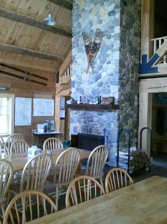 Little Lyford Lodge and Cabins: Lodge dining room