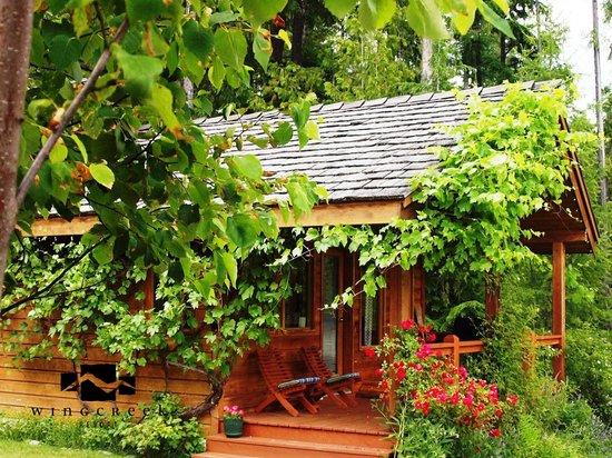 Wing Creek Resort : Cedarcrest Cottage in Summer