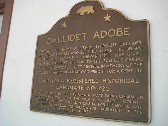 Dallidet Adobe and Gardens: Dallidet Adobe Landmark Status