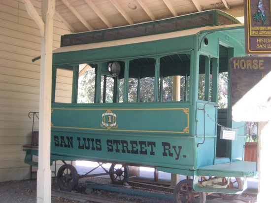 Dallidet Adobe and Gardens: Street Car from the late 1800s