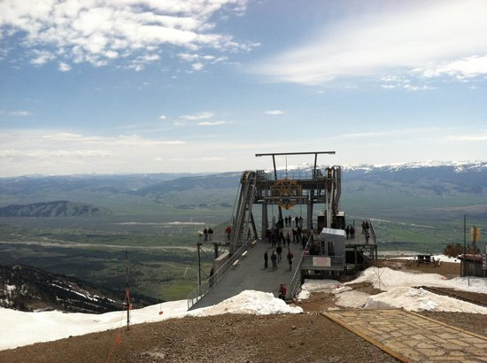 Jackson Hole Aerial Tram: Top of the Tram