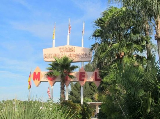 Warm Mineral Springs Motel: Tropical hello