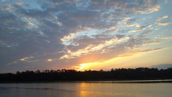 Cumberland Island National Seashore : The sunrise and sunsets were awesome