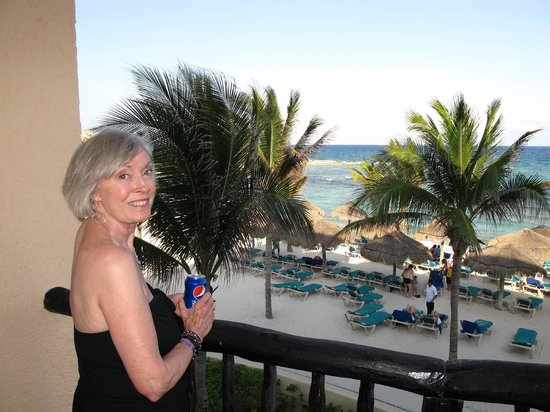 Catalonia Riviera Maya: Our view 3rd floor center, the best room 3130