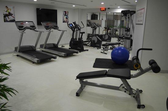 Troya Hotel: gym