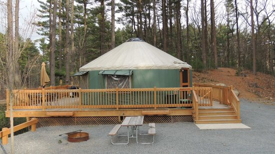 Normandy Farms Family Camping Resort: View of our Yurt