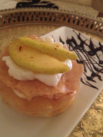 Riad Dixneuf La Ksour: Atika's desserts are superb