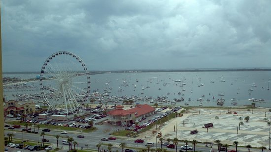 360 Observation Wheel taken from the Holiday Inn